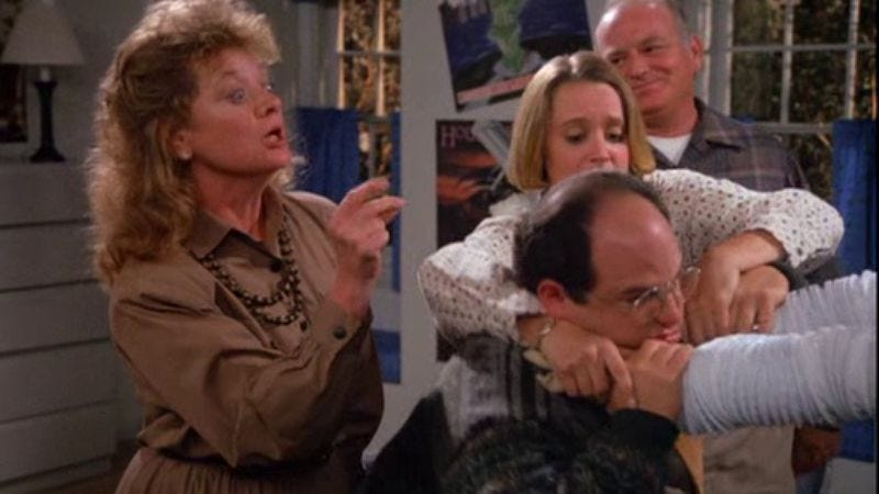 """Illustration for article titled Seinfeld: """"The Wallet""""/""""The Watch""""/""""The Bubble Boy"""""""