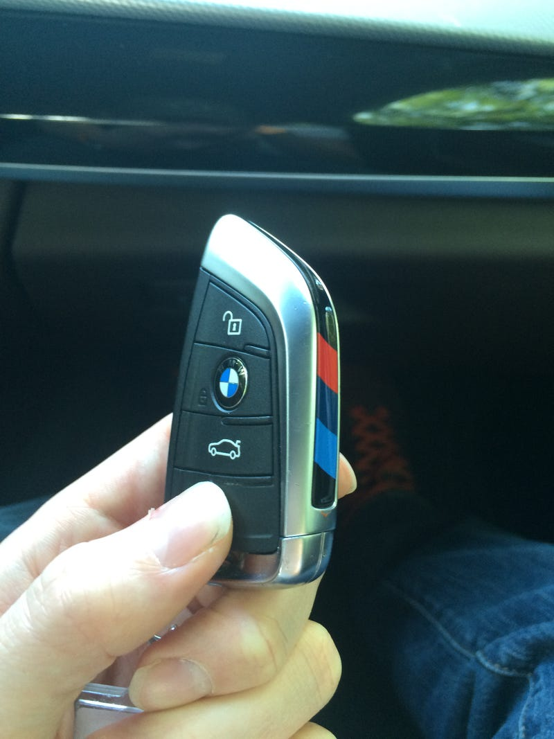 Illustration for article titled ///M Key Fob. +5 hp!