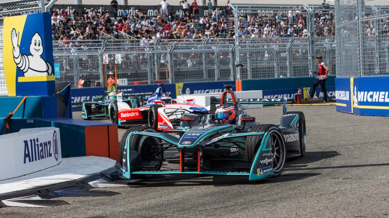 The Formula E New York race earlier this year.