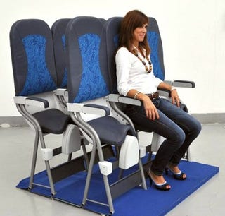 Illustration for article titled I Don't Ever Want To Sit On These SkyRider Airplane Seats
