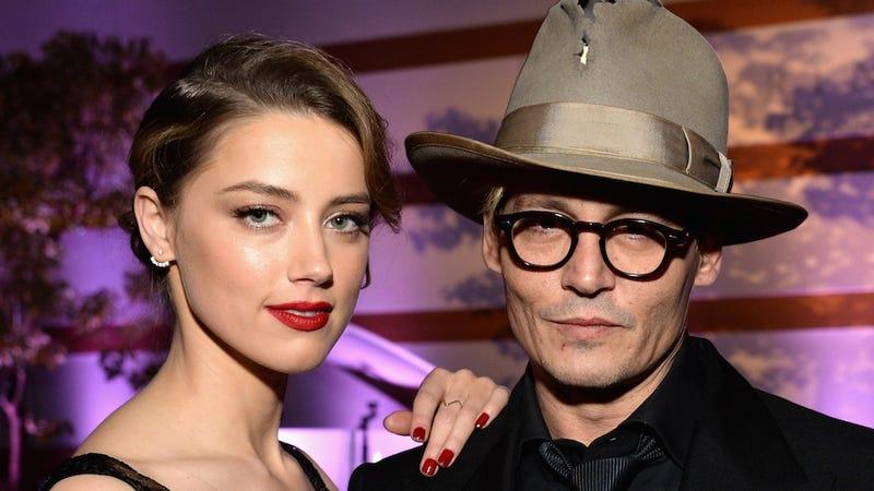 Illustration for article titled Johnny Depp and Amber Heard Could Be Splitsville After Drunken Speech