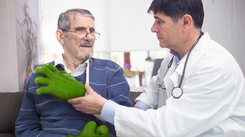 Illustration for article titled Medical Breakthrough: When This Man's Hulk Hands Were Destroyed In A Car Accident, Doctors Built Him State-Of-The-Art Prosthetic Hulk Hands