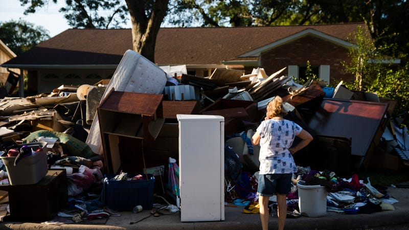 A gentle reminder of what Hurricane Harvey did to Texans' homes.