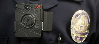 Illustration for article titled Obama Calls For $75 Million In Funding for 50,000 Police Body Cameras