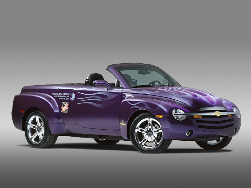 Illustration for article titled I want a Chevy SSR