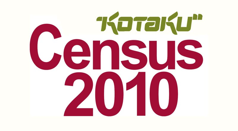 Illustration for article titled Take Part In Kotaku's Census 2010