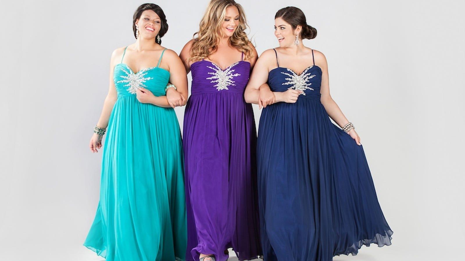 It Still Sucks To Shop For Plus-Size Prom Dresses