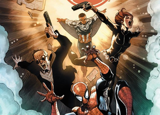 Illustration for article titled In The First SHIELDComic, Coulson and Crew Meet All the Marvel Heroes