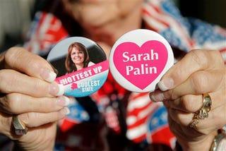 Illustration for article titled Liveblogging Sarah Palin's Acceptance Speech
