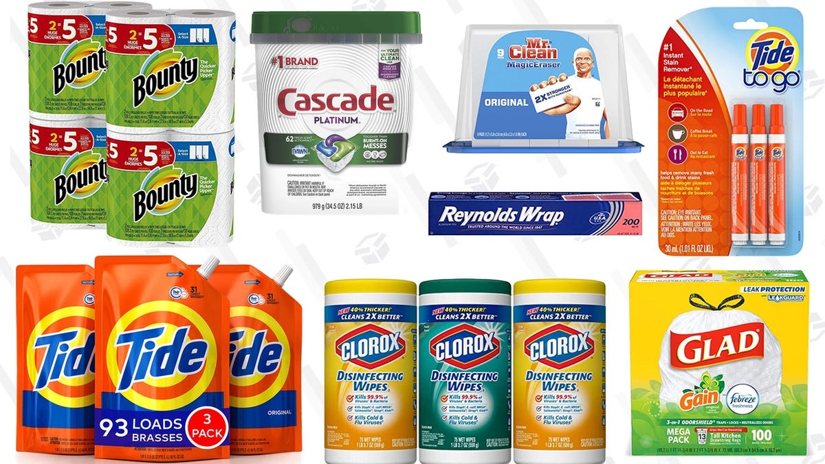 Spend $50, Save $15 On Household Essentials You Need Anyway From Amazon