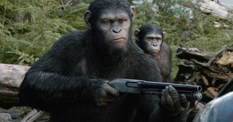 Illustration for article titled Will We Ever See A New Planet Of The Apes Movie With Stupid Humans?
