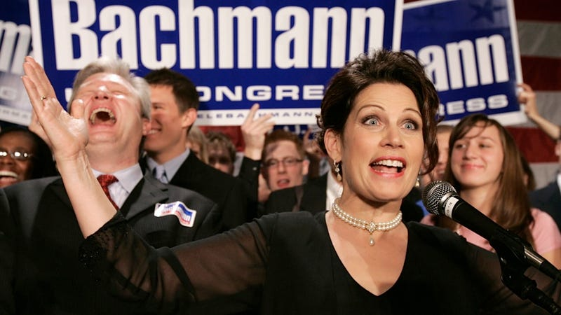 Illustration for article titled Michele Bachmann Really Wants to Become Our Generation's Joseph McCarthy