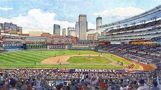 Illustration for article titled Re-Creating a Stadium Before Its First Pitch is Thrown