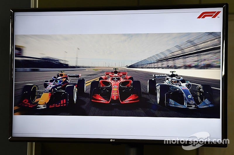 Illustration for article titled Is F1 hinting at a return to Indy?
