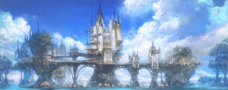 Illustration for article titled These Are The City-States of Final Fantasy XIV