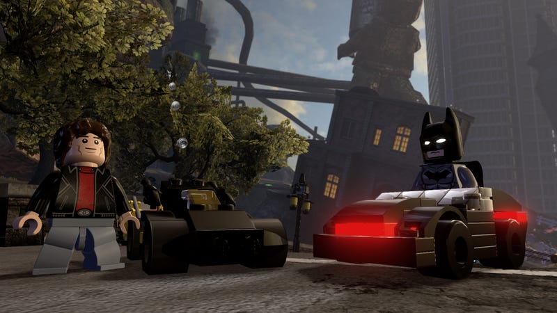 Illustration for article titled Lego Movie Batman Meets Knight Rider In Lego Dimensions Next Year
