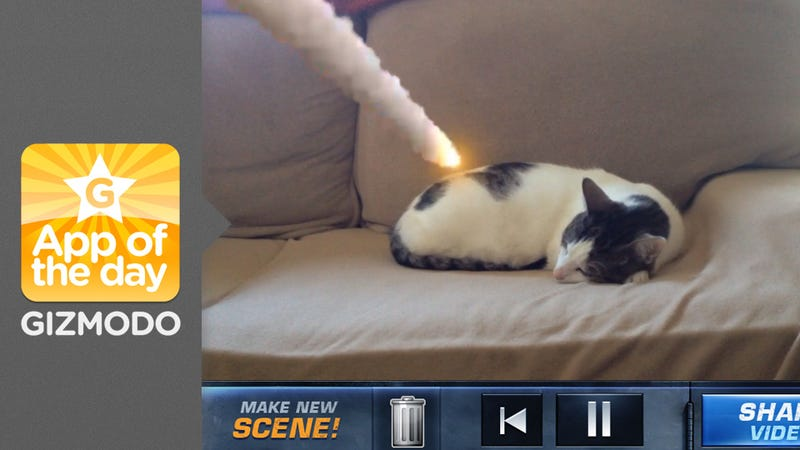 Illustration for article titled Action Movie FX: I Just Blew Up My Cat