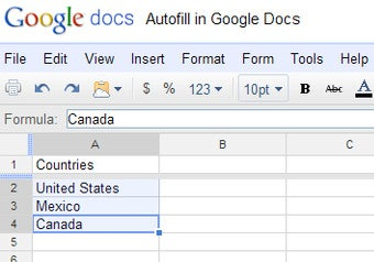 Illustration for article titled How to Autofill Numbers and Related Data in Google Spreadsheets