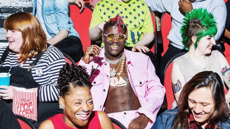 Photo: Album cover of Lil Yachty's Teenage Emotions