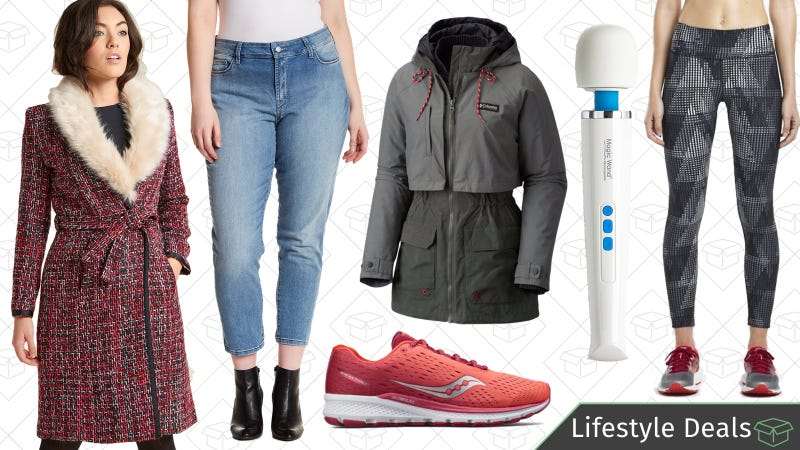 Illustration for article titled Friday's Best Lifestyle Deals: ModCloth, Magic Wand, Saucony, Columbia, and More