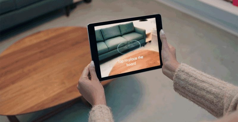 Augmented reality coming to iPhones, iPads