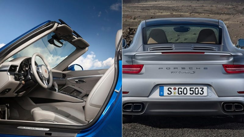 Illustration for article titled Porsche Might Unveil An Awesome Roofed 911 Targa Turbo At Geneva