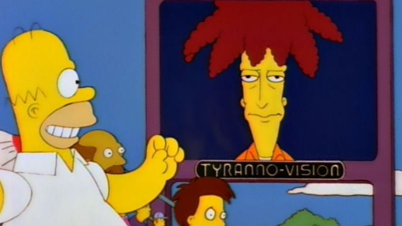 Image result for sideshow bob nuclear bomb