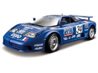 Illustration for article titled Deal of the Day: BUGATTI EB110 1:18