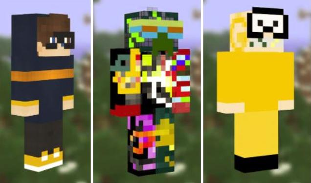 Schurken Minecraft Skins Infizieren Spieler Mit Malware UPDATE - Skins fur minecraft herunterladen
