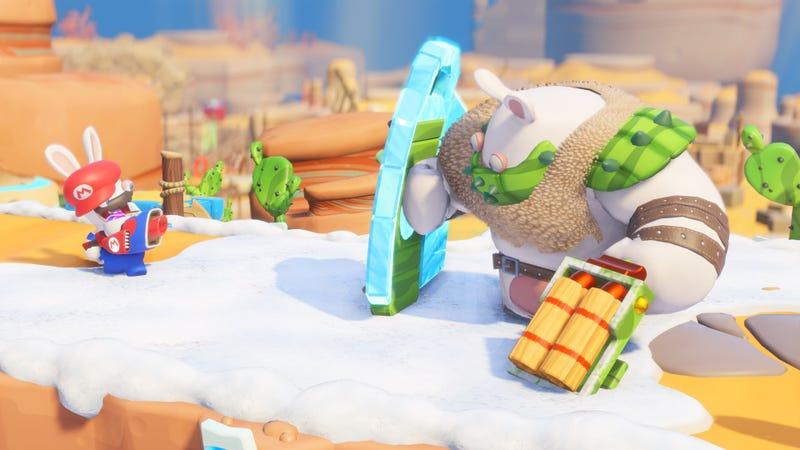 Screenshot: Mario + Rabbids Kingdom Battle/Ubisoft