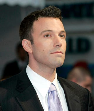 Illustration for article titled Ben Affleck Wearing Foundation, Peach-Colored Blush?