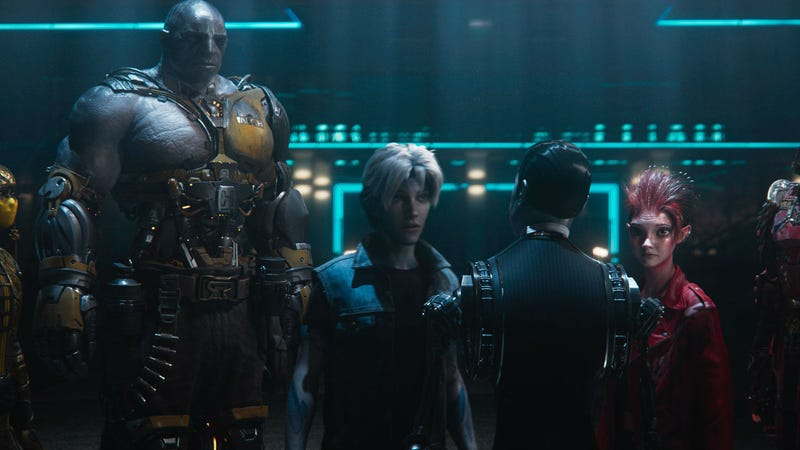 Aech, Parzival and Artemis in Ready Player One.