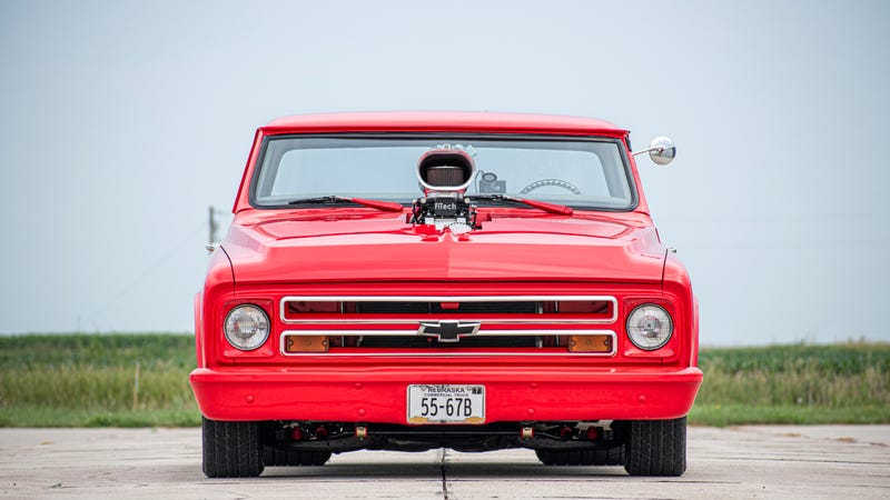 Your Slammin' Chevy C10 Wallpaper Is Here
