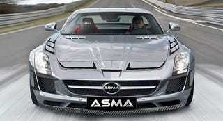 Illustration for article titled ASMA Transforms An SLS AMG Into A Decepticon