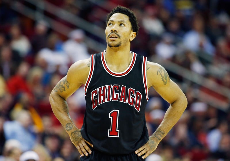 Derrick Rose of the Chicago Bulls in 2015Scott Halleran/Getty Images