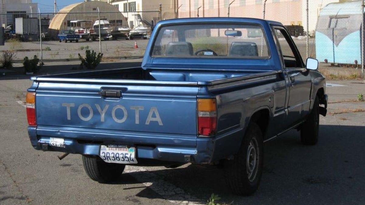 old toyota small trucks