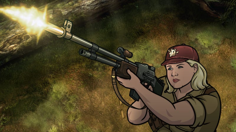 Illustration for article titled Archer's best character gets a chance to shine, fart, and shoot some shit