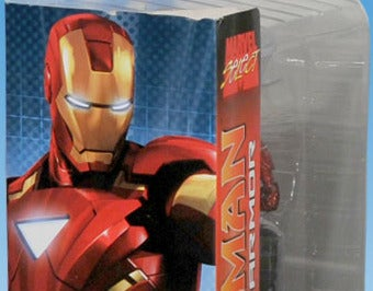Illustration for article titled Do Iron Man 2 Action Figures Give Away The Movie's Climax?