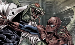 Illustration for article titled Your first look at The Lizard from The Amazing Spider-Man (as a Pez dispenser)