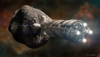 Illustration for article titled Could We Really Terraform An Asteroid?