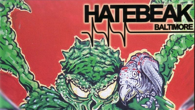 Illustration for article titled Hatebeak is the world's preeminent black metal band fronted by a parrot