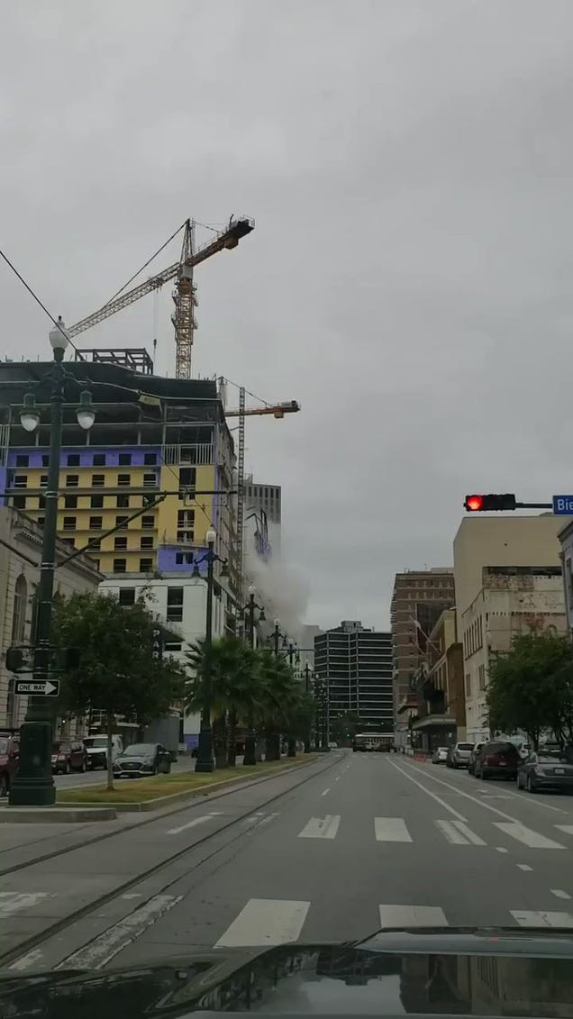 At Least One Dead After Hotel Partially Collapses in New Orleans