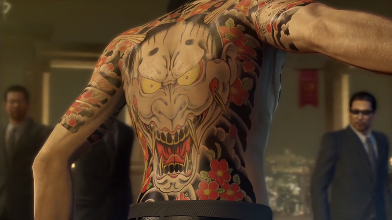 The Tattoos Of Yakuza