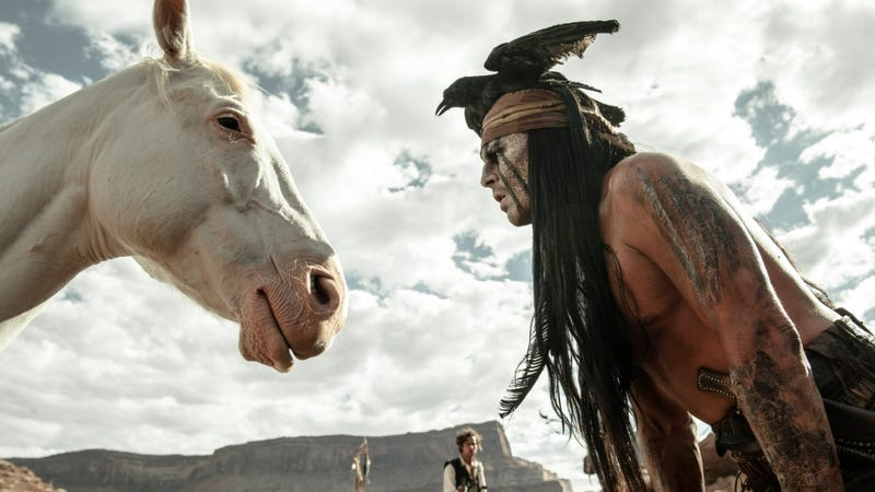 Illustration for article titled Johnny Depp Wants to Fix Racism With Tonto