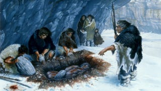 Illustration for article titled Yes, Neanderthals did bury their dead
