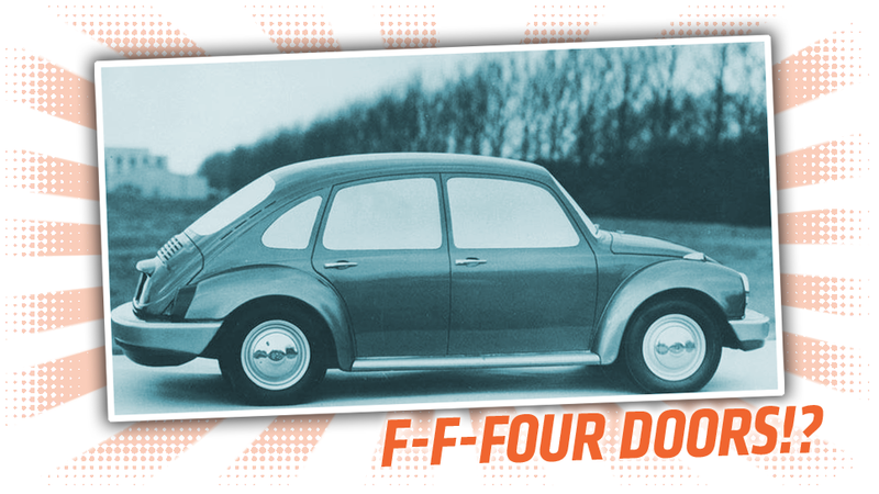 The Forgotten Beetle Four Door Sedan That Volkswagen Never Made