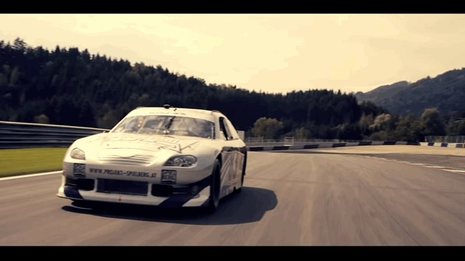 Here's Top Gear Magazine 'Driving a NASCAR'