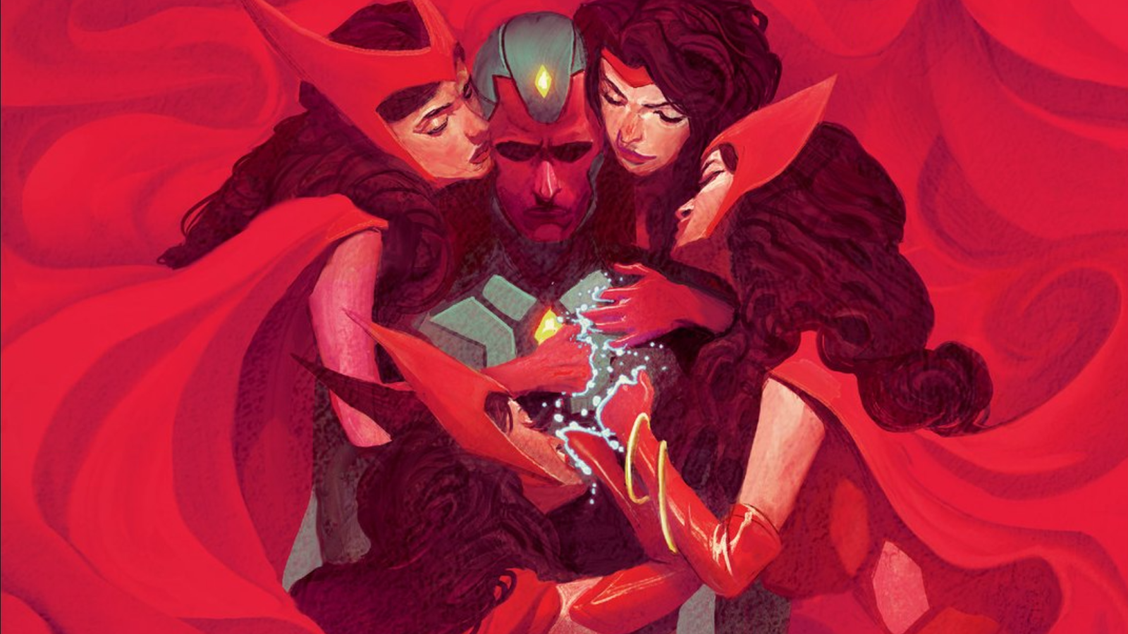 The Vision And The Scarlet Witch Had Marvel Comics' Most