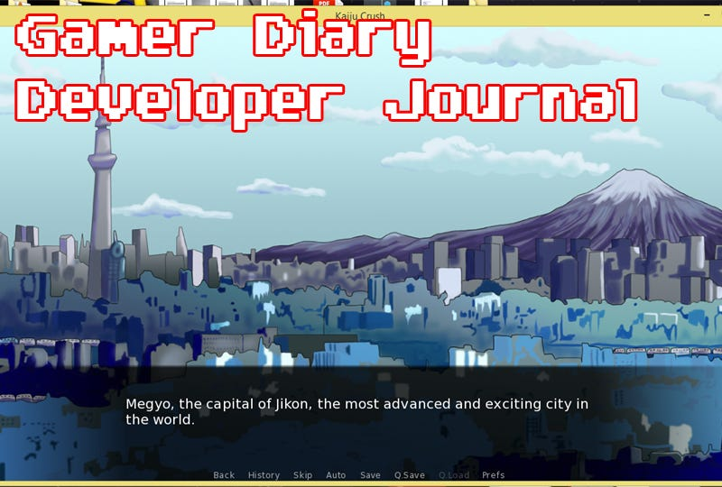 Illustration for article titled Developer Diary Day Thirty-Two