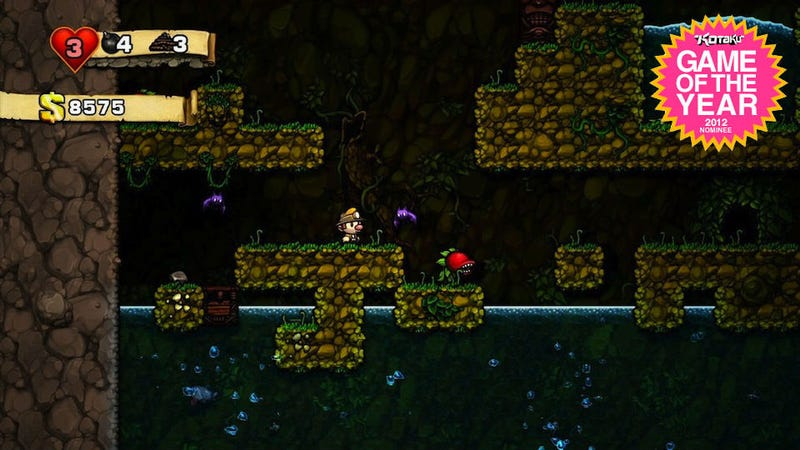 Illustration for article titled Why Spelunky Should Be Game of the Year